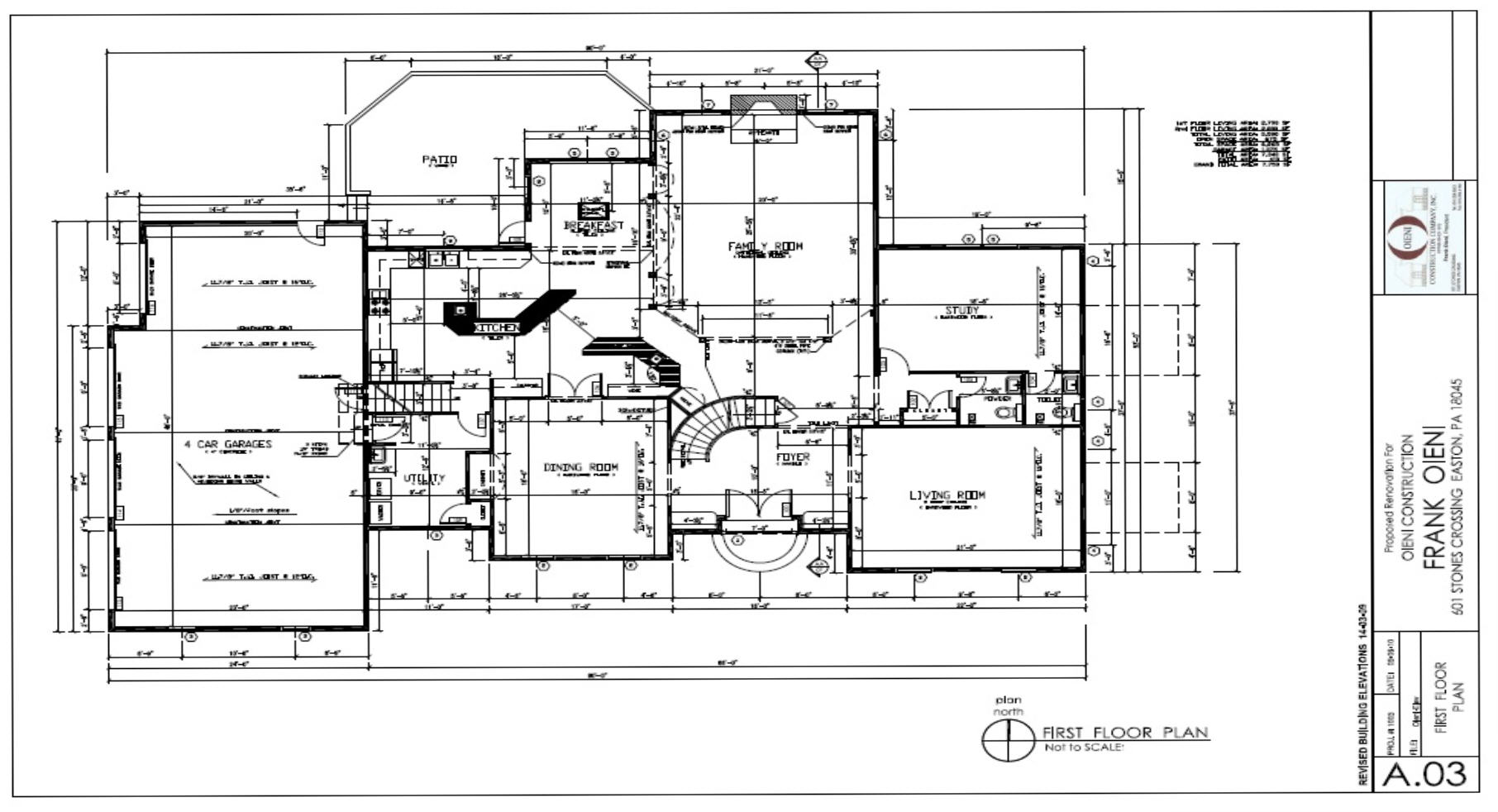 Oieni Construction Brodhead Floor Plans