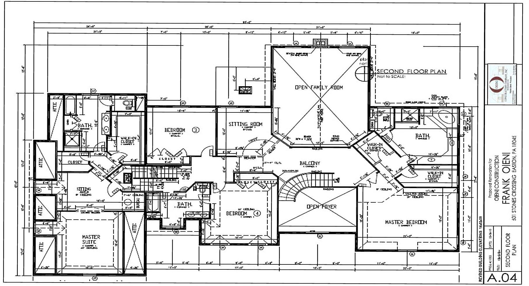 Oieni Construction - BRODHEAD FLOOR PLANS.